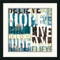 Amanti Art Mo Mullan in.Live The Dream IIin. Framed Print Art, 25in. x 25in.