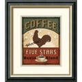 Amanti Art Daphne Brissonnet in.Coffee Blend Label IIIin. Framed Print Art, 16 1/2in. x 14 1/2in.