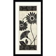 """Amanti Art Daphne Brissonnet """"Influence III Framed Print"""" Framed Print Art, 25.12"""" x 13.12"""""""