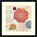 Amanti Art Veronique Charron in.Abstract Bouquet Iin. Framed Print Art, 26in. x 26in.