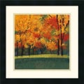 Amanti Art Lynn Krause in.Bright Autumn Day Iin. Framed Print Art, 18in. x 18in.