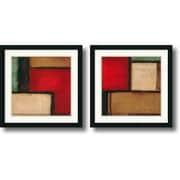 "Amanti Art Candice Alford ""Merge & Yield"" Framed Art Set, 22"" x 22"""