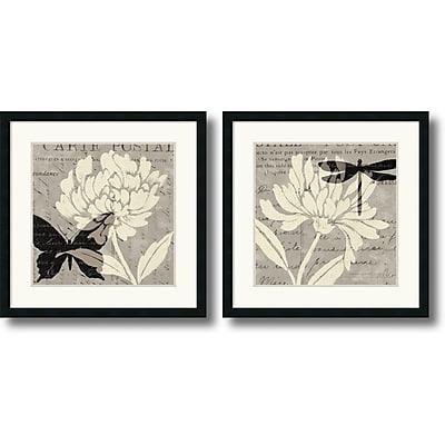 """""Amanti Art Daphne Brissonnet """"""""Natural Prints"""""""" Framed Print Art Set, 26"""""""" x 26"""""""""""""" 967341"