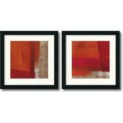 "Amanti Art Leo Burns ""Andromeda & Cepheus"" Framed Art Set, 18"" x 18"""