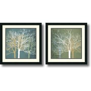 "Amanti Art Erin Clark ""Tranquil Forest"" Framed Print Art Set, 22"" x 22"""