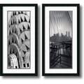 Amanti Art Torsten Andreas Hoffman in.New York Panelsin. Framed Print Art Set, 34in. x 17 1/2in.