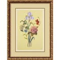Amanti Art in.Botanical Bouquet Vin. Framed Print Art, 21.88in. x 16.62in.