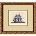 Amanti Art in.Full Sail(Netherlands)in. Framed Print Art, 12.62in. x 13.88in.