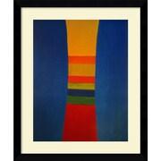 Amanti Art Jack Bush Striped Column, 1964 Framed Art, 35.62 x 29.62