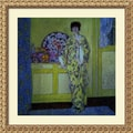 Amanti Art Frederick Carl Frieseke in.The Yellow Room, c. 1902in. Framed Art, 33 1/2in. x 33 1/2in.