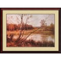 Amanti Art James Edward Grace in.Silver Birchesin. Framed Print Art, 32in. x 43in.