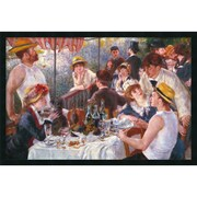 "Amanti Art Auguste Renoir ""Luncheon of the Boating Party...,1881"" Framed Art, 25.38"" x 37.38"""
