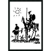 "Amanti Art Pablo Picasso ""Don Quixote"" Framed Art, 37.38"" x 25.38"""