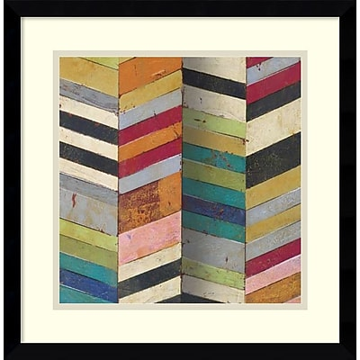 """""Amanti Art Susan Hayes """"""""Racks & Stacks II"""""""" Framed Art, 17.12"""""""" x 17.12"""""""""""""" 967526"