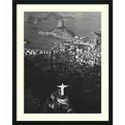 """Amanti Art Marilyn """"Cristo Redentor, Morro Do Corcovado, Rio De Jan..."""" Framed Art, 38"""" x 30 1/2"""""""