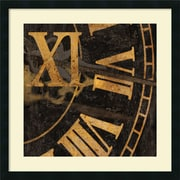 "Amanti Art Russell Brennan ""Roman Numerals I Framed Print"" Framed Print Art, 26"" x 26"""
