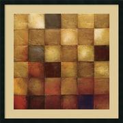 "Amanti Art Wani Pasion ""Cerveny"" Framed Art, 34"" x 34"""