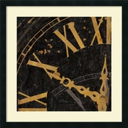 "Amanti Art Russell Brennan ""Roman Numerals II Framed Print"" Framed Print Art, 26"" x 26"""