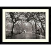 "Amanti Art Henri Silberman ""Poet's Walk"" Framed Print Art, 25.88"" x 34.62"""