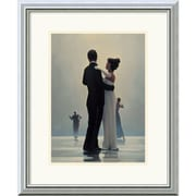 """Amanti Art Jack Vettriano """"Dance Me to the End of Love"""" Framed Art, 22"""" x 18"""""""