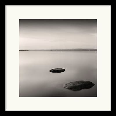 """""Amanti Art Andrew Ren """"""""A Night on Ottawa River"""""""" Framed Print Art, 17"""""""" x 17"""""""""""""" 966909"
