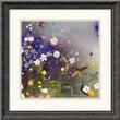"Amanti Art Aleah Koury ""Gardens in the Mist IX"" Framed Print Art, 18 1/4"" x 18 1/4"""