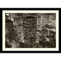 Amanti Art Michael Kenna in.Mary Poppins over Midtown, NY 2006in. Framed Print Art, 31.62in. x 42.62in.