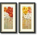 Amanti Art Danhui Nai in.Daisies Fallin. Framed Print Art Set, 26.45in. x 14.45in.