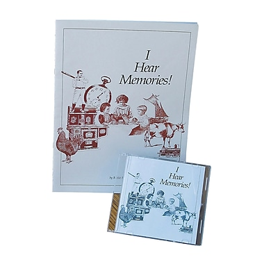 S&S® I Hear Memories CD/Book Set