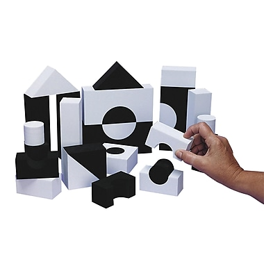 S&S® SoftBlocks™ Black & White Blocks Set