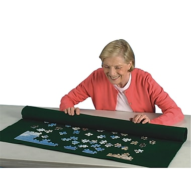 S&S® 48in. X 36in. Puzzle Roll-up Mat, Jigsaw