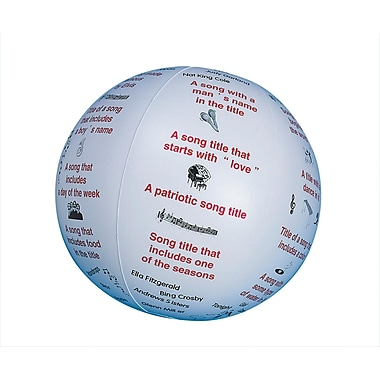 S&S® Toss 'n Talk-About® Music Ball