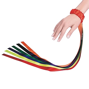 S&S® Wrist Ribbons, 12/Pack