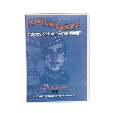 S&S® Heroes and Home Fires Sing-Along DVD