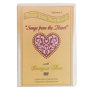S&S® Songs from the Heart Sing-Along DVD