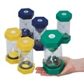 S&S® Small Plastic Sand Timer, 6/Set