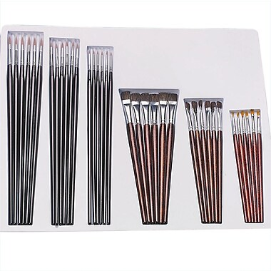 S&S® Brushes and Storage Tray, 36/Pack