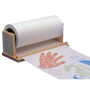 S&S® Paper Roll Holder/Cutter