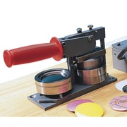 Tecre® Heavy-Duty Hand-Operated Button Maker