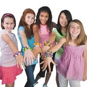 S&S® Color-Me Trading Bead Bracelets Kit, 144/Pack
