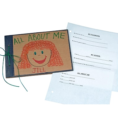 S&S® All About Me Scrapbook, 9 1/2