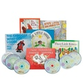 S&S® Children's Books With CDs, 6/Set