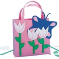 Craft EXpress Pink Tulips Tote Bag Craft Kit, 12/Pack