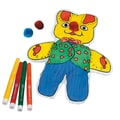 Craft EXpress Color-Me™ Eddit The Bunny Craft Kit, 12/Pack