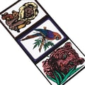 Craft EXpress Velvet Art Animals Craft Kit, 12/Pack