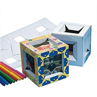Color-Me™ 3-D Cube Frame, 24/Pack