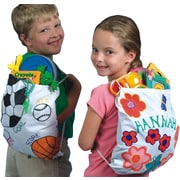 "Color-Me FA3373 Multicolor Backpack, 14"" x 12"", 12/Pack"