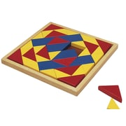 "S&S® 10 1/2"" X 10 1/2"" X 3/4"" Wood Puzzle, Mosaic"