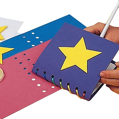 Educraft® Super Foam Memory Book Craft Kit, 24/Pack