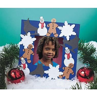 Geeperz™ Winter Wonderland Frame Craft Kit, 24/Pack